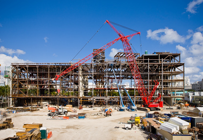 Construction Site on Sunny Day